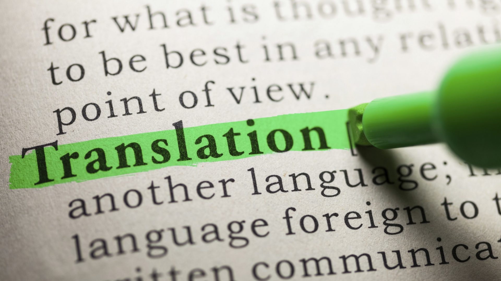 Agenzia e Servizi di Traduzione professionale